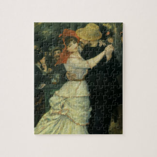 Dance at Bougival by Renoir, Vintage Impressionism Jigsaw Puzzles