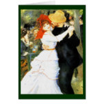 Dance at Bougival Greeting Card