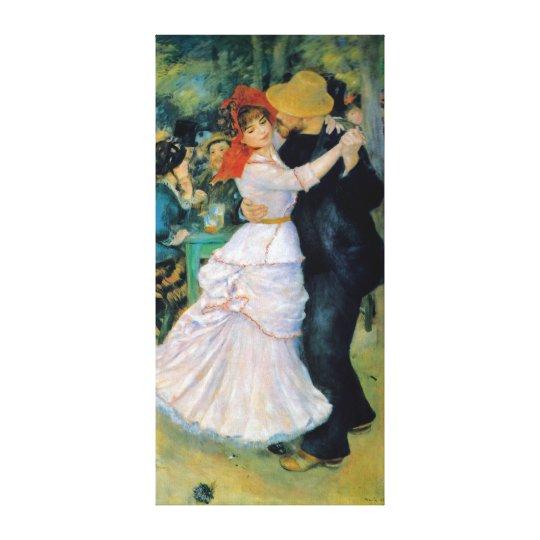 Dance At Bougival Renoir Fine Art Canvas Print