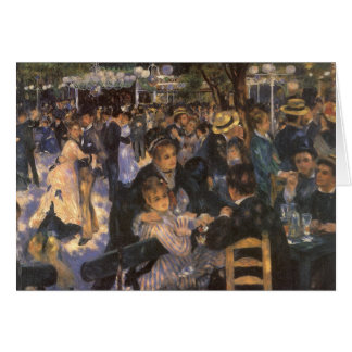 Dance at Le Moulin de la Galette by Pierre Renoir Card