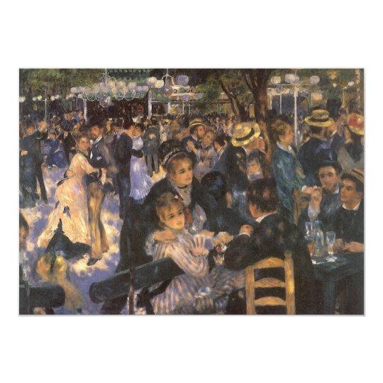 Dance at Le Moulin de la Galette by Pierre Renoir Card