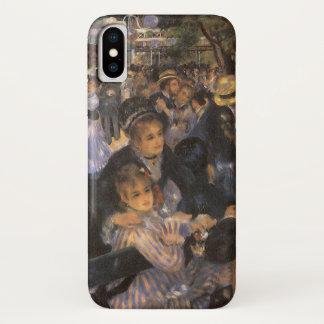 Dance at Le Moulin de la Galette by Pierre Renoir iPhone X Case