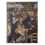 Dance at Le Moulin de la Galette by Pierre Renoir Notebook