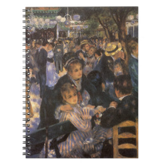 Dance at Le Moulin de la Galette by Pierre Renoir Notebook