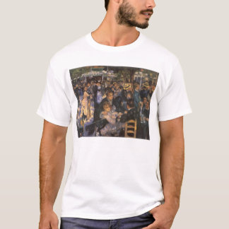 Dance at Le Moulin de la Galette by Pierre Renoir T-Shirt