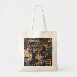 Dance at Le Moulin de la Galette by Pierre Renoir Tote Bag