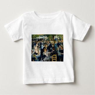 Dance at Le Moulin de la Galette by Renoir Baby T-Shirt