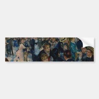 Dance at Le Moulin de la Galette by Renoir Bumper Sticker