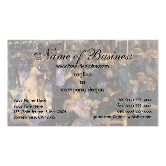 Dance at Le Moulin de la Galette by Renoir Business Card Templates