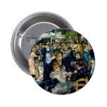 Dance at Le Moulin de la Galette by Renoir 2 Inch Round Button
