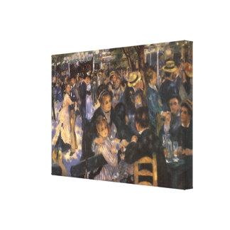 Dance at Le Moulin de la Galette by Renoir Canvas Prints