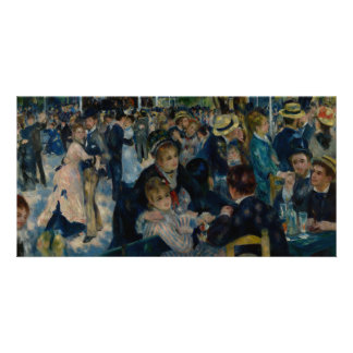 Dance at Le Moulin de la Galette by Renoir Card