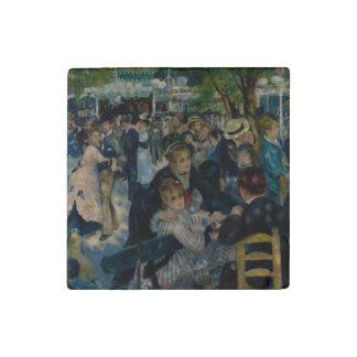 Dance at Le Moulin de la Galette by Renoir Stone Magnet