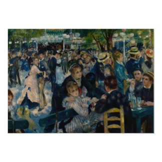 Dance at Le Moulin de la Galette by Renoir Custom Invite
