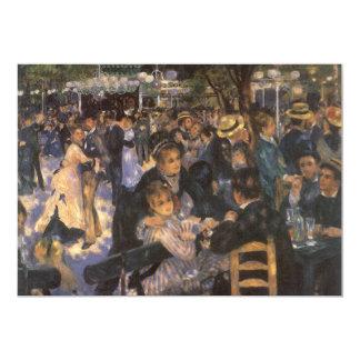 Dance at Le Moulin de la Galette by Renoir Personalized Announcement