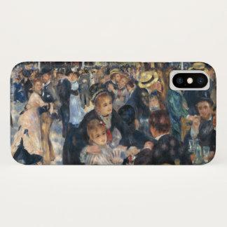 Dance at Le Moulin de la Galette by Renoir iPhone X Case
