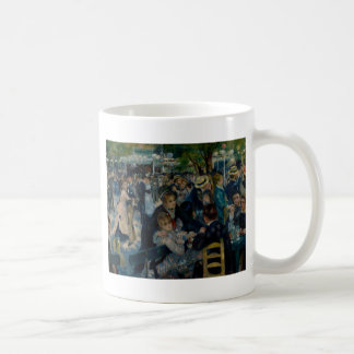 Dance at Le Moulin de la Galette by Renoir Classic White Coffee Mug