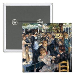 Dance at Le Moulin de la Galette by Renoir Pinback Button