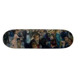 Dance at Le Moulin de la Galette by Renoir Skateboard Deck
