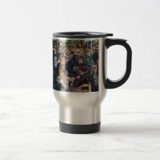 Dance at Le Moulin de la Galette by Renoir Travel Mug