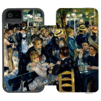 Dance at Le Moulin de la Galette iPhone SE/5/5s Wallet Case