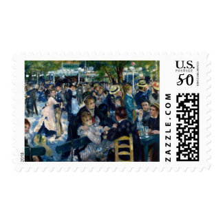 Dance at Le Moulin de la Galette Postage