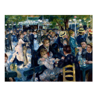 Dance at Le Moulin de la Galette Postcard