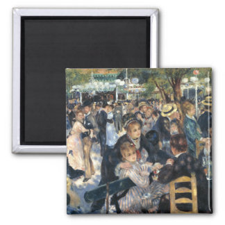 Dance at Le moulin de la Galette, Renoir Refrigerator Magnet