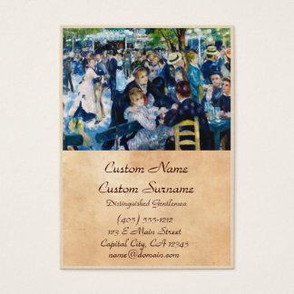 Dance at the Moulin de la Galette Auguste Renoir Business Card