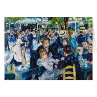 Dance at the Moulin de la Galette Auguste Renoir Card