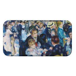 Dance at the Moulin de la Galette Auguste Renoir Cover For iPhone 4