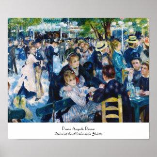 Dance at the Moulin de la Galette Auguste Renoir Poster