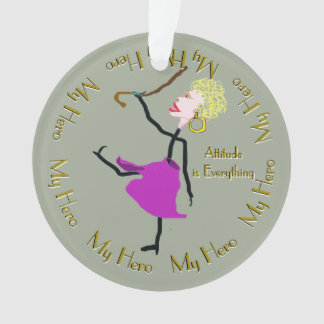 Dance - Attitude is Everything Ornament