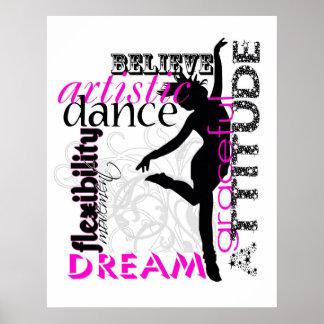 Dance Attitude Poster