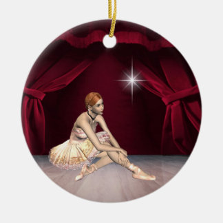 Dance Ballerina Ceramic Ornament