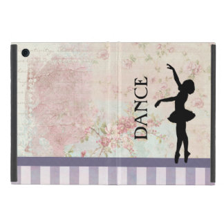Dance - Ballerina Silhouette on Vintage Background Case For iPad Mini