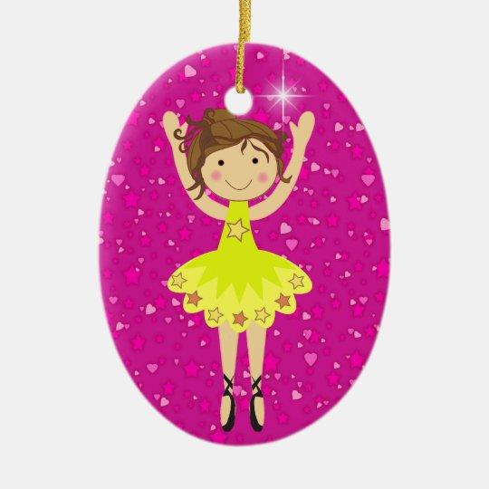 Dance Ballerina - SRF Ceramic Ornament