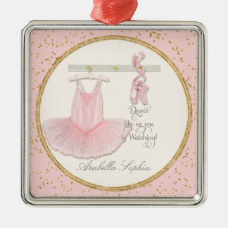Dance Ballet Ballerina Tutu Personalized Girl Metal Ornament