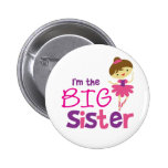 Dance Ballet Big Sister Pinback Button