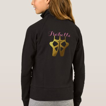 Beach Themed Dance Ballet Jacket with Name & Dancer Personalize