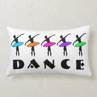 DANCE Ballet Neon Ballerina Dancers Dancing Pillow