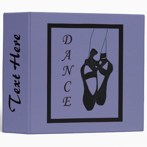 """Dance Ballet Shoes En Pointe 2.0"""" Binder by Heard_"""