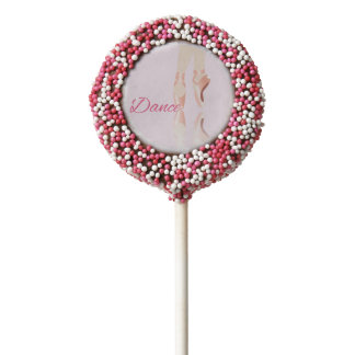 Dance Ballet Slippers Chocolate Dipped Oreo Pop