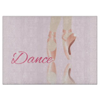 Dance Ballet Slippers Cutting Boards