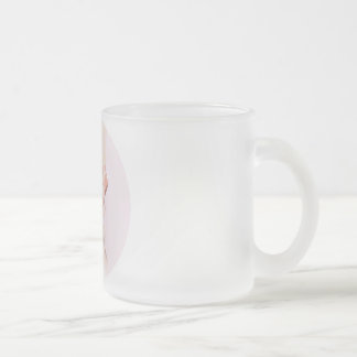 Dance Ballet Slippers Frosted Glass Coffee Mug