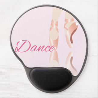 Dance Ballet Slippers Gel Mouse Pad