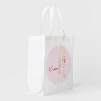Dance Ballet Slippers Grocery Bag