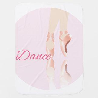 Dance Ballet Slippers Swaddle Blanket
