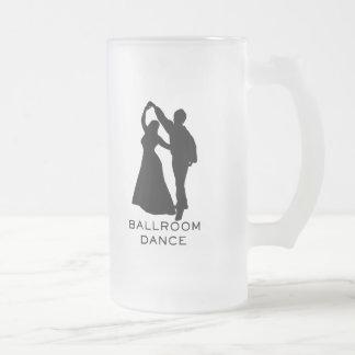 Dance - Ballroom Dance 16 Oz Frosted Glass Beer Mug