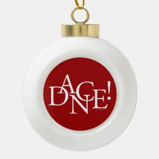 Dance! (basic) ceramic ball christmas ornament